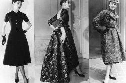 Drie jurken uit de modeshow van New York