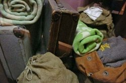 Koffers transport Joden