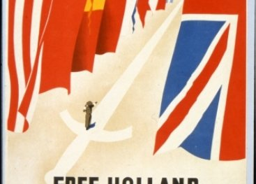 Free Holland welcomes the soldiers of the allies!