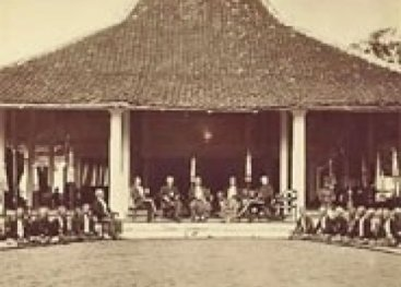 A house in the the pre-war Dutch East Indies